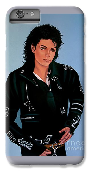 Michael Jackson Bad IPhone 6 Plus Case by Paul Meijering