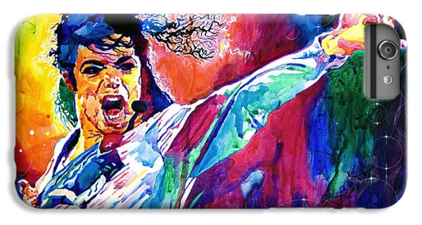 Michael Jackson Force IPhone 6 Plus Case by David Lloyd Glover