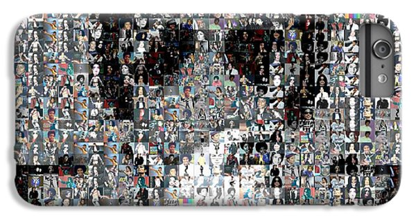 Michael Jackson Glove Montage IPhone 6 Plus Case by Paul Van Scott