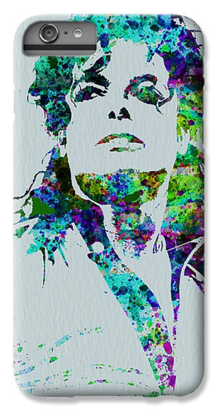 Michael Jackson IPhone 6 Plus Case by Naxart Studio