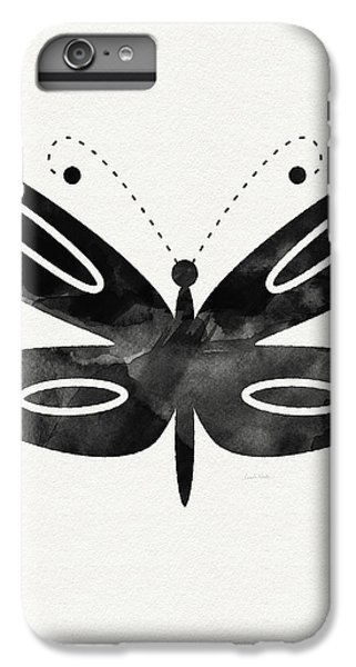 Midnight Butterfly 1- Art By Linda Woods IPhone 6 Plus Case by Linda Woods