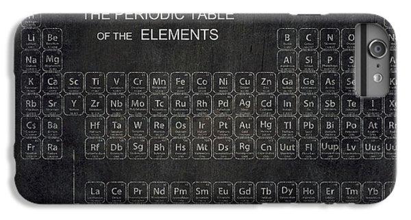 Minimalist Periodic Table IPhone 6 Plus Case by Daniel Hagerman