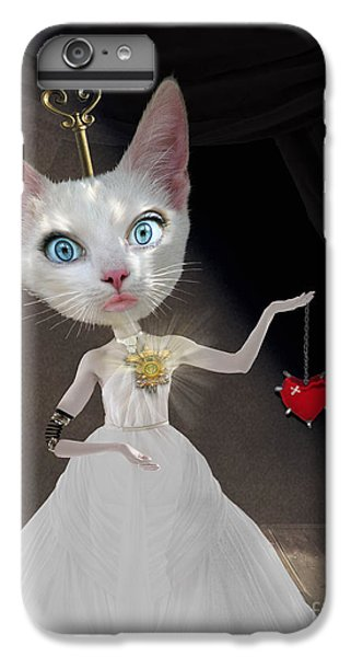 Miss Kitty IPhone 6 Plus Case by Juli Scalzi