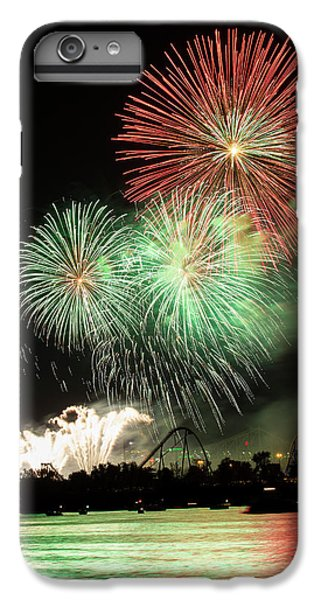 Montreal-fireworks IPhone 6 Plus Case by Mircea Costina Photography