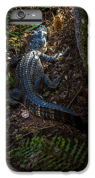 Mr Alley Gator IPhone 6 Plus Case by Marvin Spates