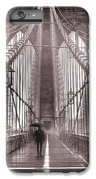 Mystery Man Of Brooklyn IPhone 6 Plus Case by Az Jackson