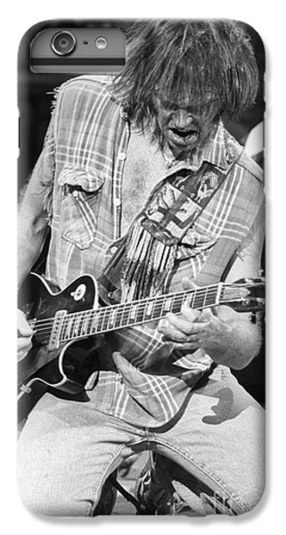 Neil Young IPhone 6 Plus Case by David Plastik