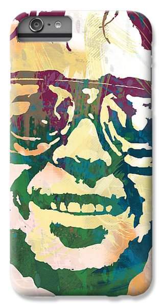Neil Young Pop Stylised Art Poster IPhone 6 Plus Case by Kim Wang