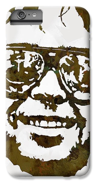 Neil Young Pop  Stylised Art Sketch Poster IPhone 6 Plus Case by Kim Wang