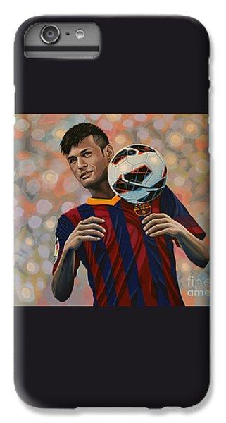 Neymar IPhone 6 Plus Case by Paul Meijering
