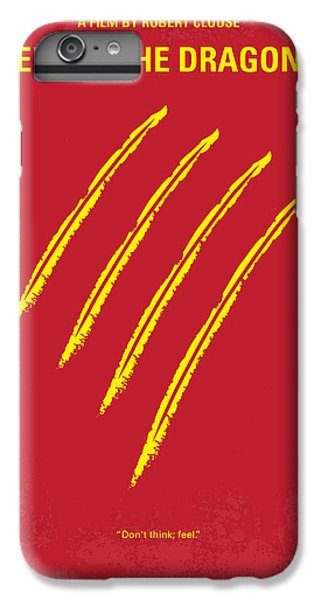 No026 My Enter The Dragon Minimal Movie Poster IPhone 6 Plus Case by Chungkong Art