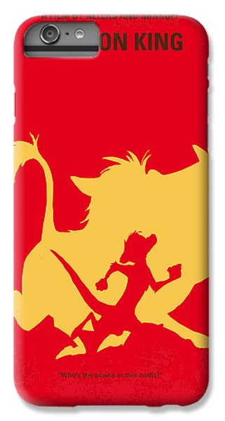 No512 My The Lion King Minimal Movie Poster IPhone 6 Plus Case by Chungkong Art
