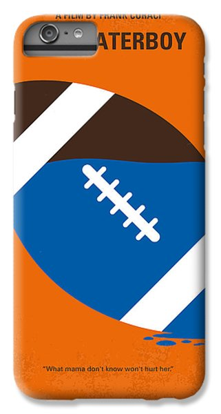 No580 My The Waterboy Minimal Movie Poster IPhone 6 Plus Case by Chungkong Art