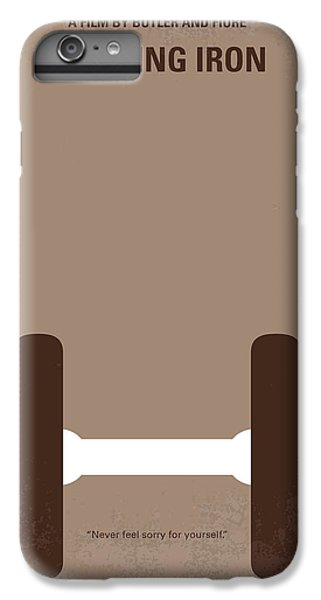 No707 My Pumping Iron Minimal Movie Poster IPhone 6 Plus Case by Chungkong Art