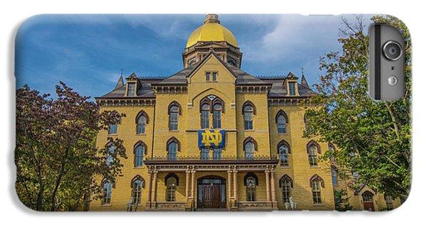 Notre Dame University Golden Dome IPhone 6 Plus Case by David Haskett