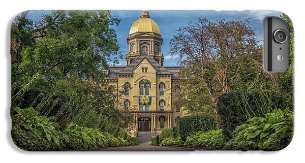 Notre Dame University Q1 IPhone 6 Plus Case by David Haskett
