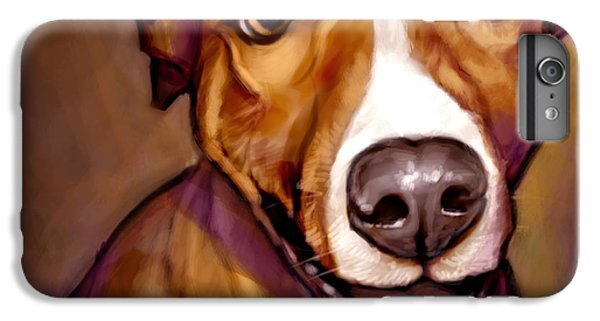 Number One Fan IPhone 6 Plus Case by Sean ODaniels