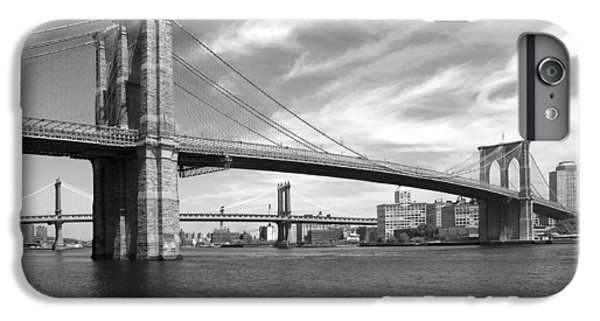 Nyc Brooklyn Bridge IPhone 6 Plus Case by Mike McGlothlen