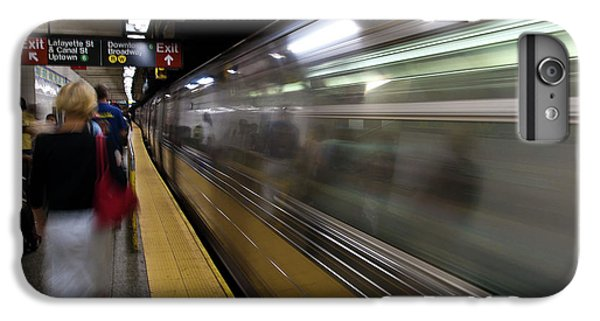 Nyc Subway IPhone 6 Plus Case by Sebastian Musial