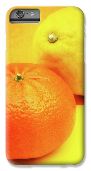 Orange And Lemon IPhone 6 Plus Case by Wim Lanclus