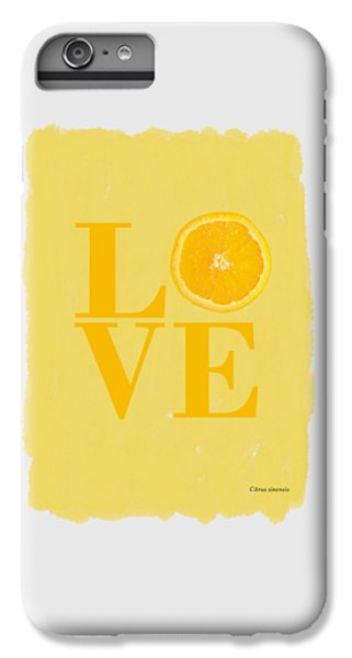 Orange IPhone 6 Plus Case by Mark Rogan