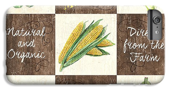 Organic Market Patch IPhone 6 Plus Case by Debbie DeWitt
