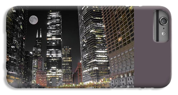 Panoramic Lakefront View In Chicago IPhone 6 Plus Case by Frozen in Time Fine Art Photography