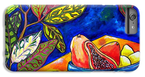Papaya Morning IPhone 6 Plus Case by Patti Schermerhorn