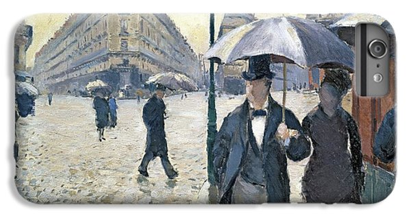 Paris A Rainy Day IPhone 6 Plus Case by Gustave Caillebotte