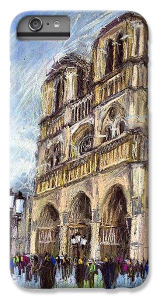 Paris Notre-dame De Paris IPhone 6 Plus Case by Yuriy  Shevchuk