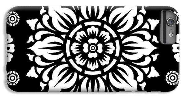 Pattern Art 01-1 IPhone 6 Plus Case by Bobbi Freelance