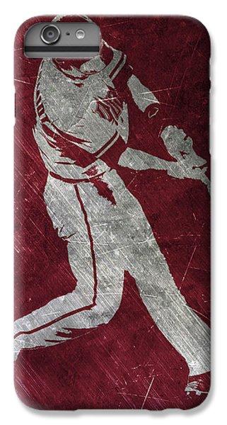 Paul Goldschmidt Arizona Diamondbacks Art IPhone 6 Plus Case by Joe Hamilton