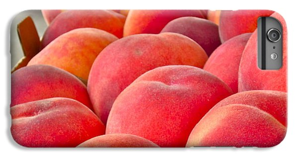 Peaches For Sale IPhone 6 Plus Case by Gwyn Newcombe
