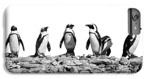 Penguins IPhone 6 Plus Case by Delphimages Photo Creations