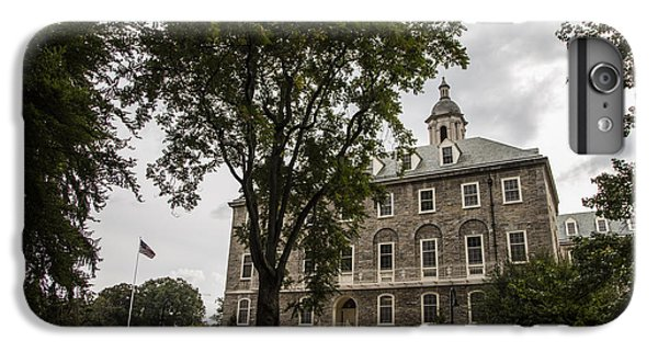 Penn State Old Main And Tree IPhone 6 Plus Case by John McGraw