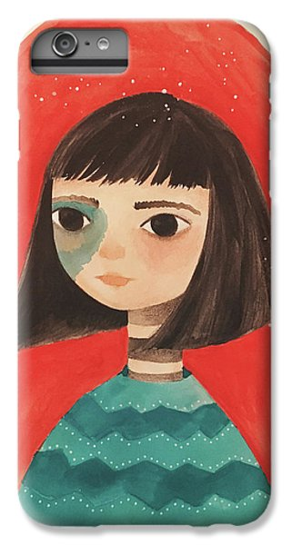 Permanent Contemplation IPhone 6 Plus Case by Carolina Parada