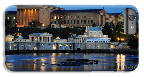 Philadelphia Art Museum And Fairmount Water Works IPhone 6 Plus Case by Gary Whitton