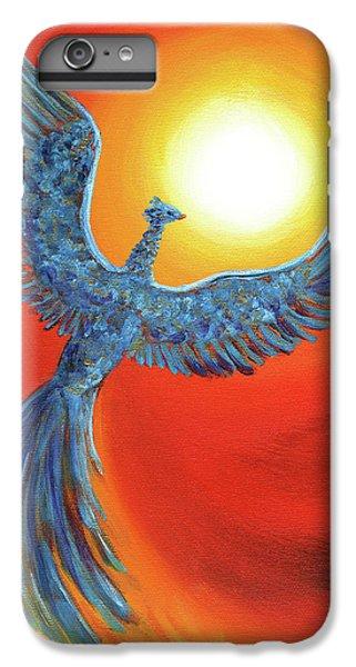 Phoenix Rising IPhone 6 Plus Case by Laura Iverson