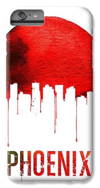 Phoenix Skyline Red IPhone 6 Plus Case by Naxart Studio
