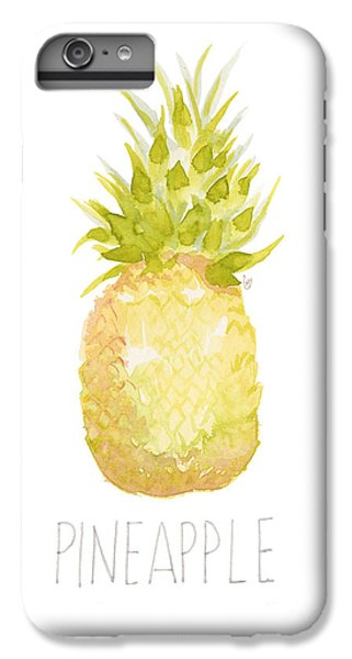 Pineapple IPhone 6 Plus Case by Cindy Garber Iverson