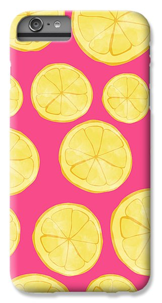 Pink Lemonade IPhone 6 Plus Case by Allyson Johnson