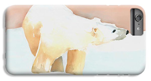 Polar Bear IPhone 6 Plus Case by Arline Wagner