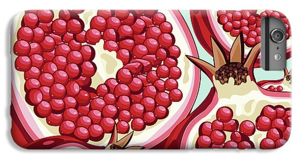 Pomegranate   IPhone 6 Plus Case by Mark Ashkenazi