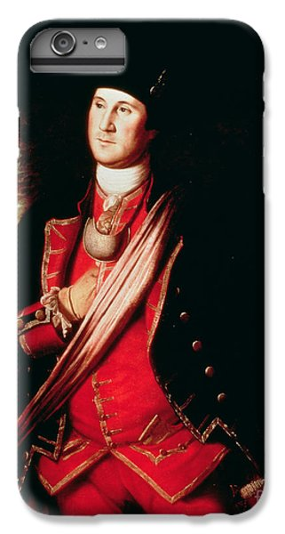 Portrait Of George Washington IPhone 6 Plus Case by Charles Willson Peale