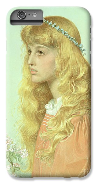 Portrait Of Miss Adele Donaldson, 1897 IPhone 6 Plus Case by Anthony Frederick Augustus Sandys