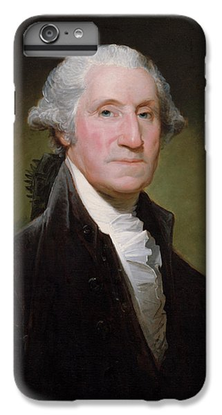President George Washington IPhone 6 Plus Case by War Is Hell Store