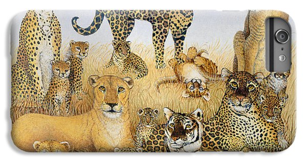 The Big Cats IPhone 6 Plus Case by Pat Scott