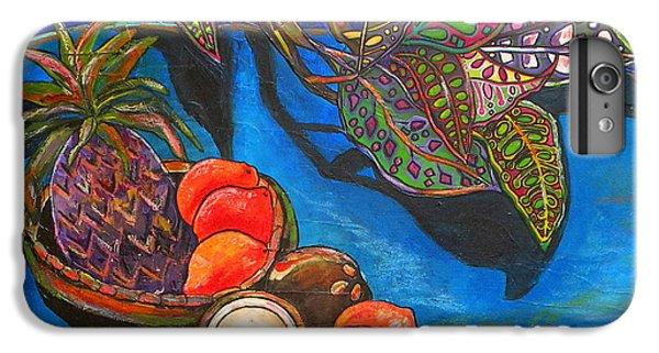 Purple Pineapple IPhone 6 Plus Case by Patti Schermerhorn