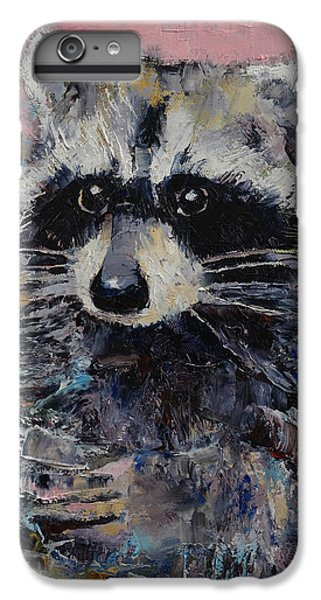 Raccoon IPhone 6 Plus Case by Michael Creese