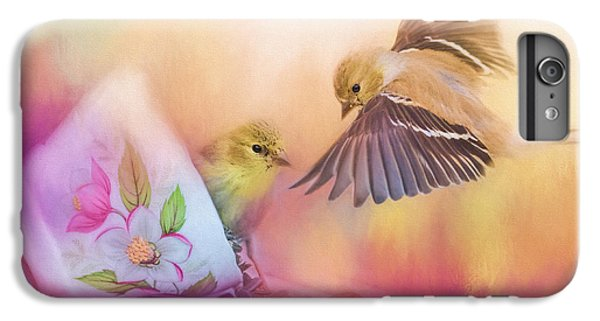 Raiding The Teacup - Songbird Art IPhone 6 Plus Case by Jai Johnson